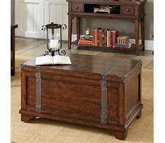 Trunk chest coffee table Video