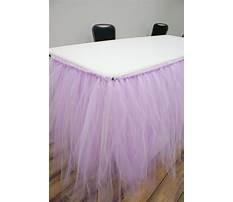 Tulle table skirt diy.aspx Video