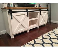 Tv stand blueprints free Video