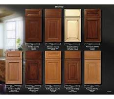 Types of wood cabinet finishes Video