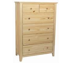 Unfinished furniture dresser chest Video
