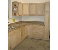 Unfinished kitchen cabinet doors for sale Video