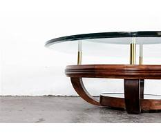 Unique coffee table bases for glass tops Video