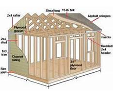 Utility shed plans free Video