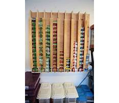 Vertical can storage rack plans Video