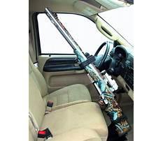 Vertical gun rack for truck Video