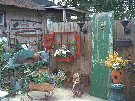 Vintage Junk Garden