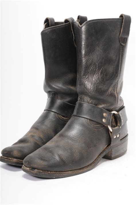 Vintage Motorcycle Boots Size
