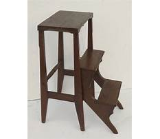 Vintage library ladder chair Video