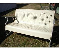 Vintage porch glider parts Video