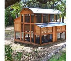 Walk in chicken coop kit Video