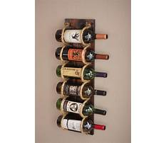 Wall wine rack build Video