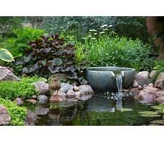Water garden supplies Video