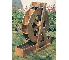Water wheel plans free Video