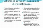 What Is the Difference Between Chemical and Physical Properties