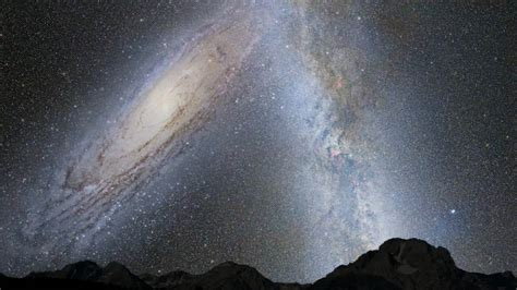 What Will The Andromeda Galaxy Milky Way Like Collisionlook