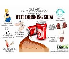 What happens after you stop drinking diet soda Video