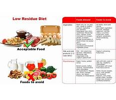 What is a soft low residue diet Video