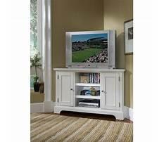 White corner tv entertainment center Video