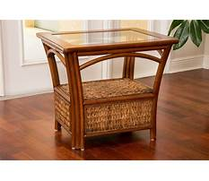 Wicker end tables for living room Video