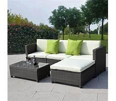 Wicker outdoor sofa Video