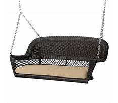 Wicker swing with free shipping Video