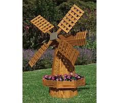 Windmill planter plans Video