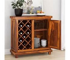 Wine cabinet wood Video