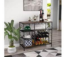 Wine rack dining table Video