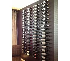 Wine rack wall plans Video