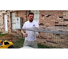 Wire rabbit cages how to build Video