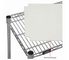 Wire shelving boards Video