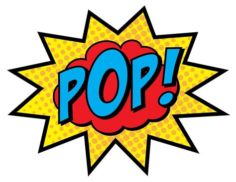 Wonder Woman Boom Pow Clip Art