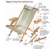 Wood beach chair plans Video
