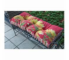 Wood bench cushion Video
