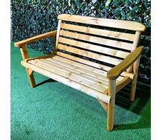 Wood bench used Video