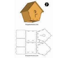 Wood bird house template Video