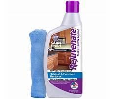 Wood cabinet finish restorer Video