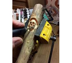 Wood carving projects for a dremel Video