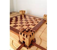 Wood chess table plans Video