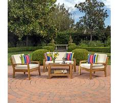 Wood outdoor furniture Video