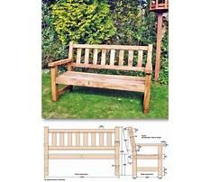 Wood patio bench plans.aspx Video