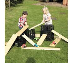 Wood planks for kids Video