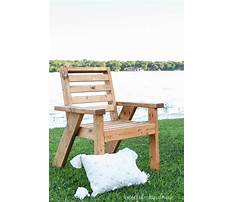 Wood plans for outdoor furniture Video