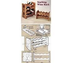 Wood plans wine rack Video