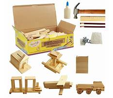 Wood projects for kids kits Video
