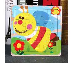 Wood puzzle patterns for kids Video