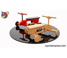 Wood riding toys plans Video