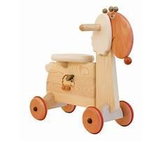 Wood riding toys Video