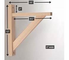 Wood shelf bracket woodworking plans.aspx Video